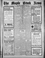The Maple Creek News August 8, 1918
