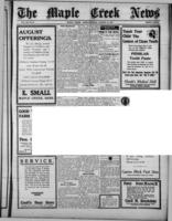 The Maple Creek News August 15, 1918