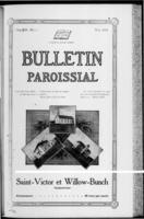 Bulletin Paroissial May, 1918