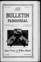Bulletin Paroissial September, 1918