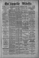 Qu'Appelle Vidette  February 3, 1887