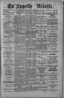 Qu'Appelle Vidette  February 17, 1887