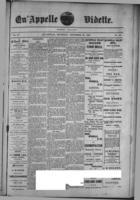 Qu'Appelle Vidette  December 22, 1887