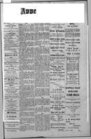 Qu'Appelle Vidette  August 25, 1887