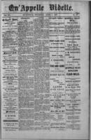 Qu'Appelle Vidette  April 7, 1887