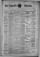Qu'Appelle Vidette  December 29, 1887