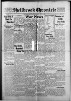 Shellbrook Chronicle August 22, 1914