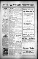 The Watson Witness August 28, 1914