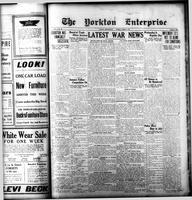 The Yorkton Enterprise August 6, 1914