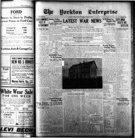 The Yorkton Enterprise August 13, 1914