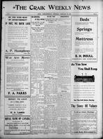 The Craik Weekly News February 25, 1915