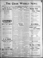 The Craik Weekly News April 29, 1915