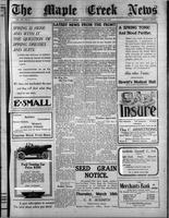 The Maple Creek News March 25, 1915