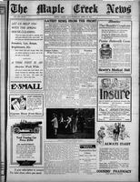 The Maple Creek News April 15, 1915