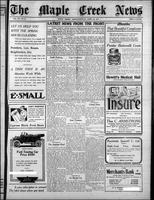 The Maple Creek News April 22, 1915