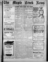 The Maple Creek News April 29, 1915