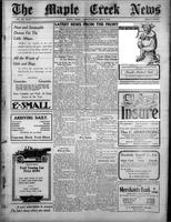 The Maple Creek News May 6, 1915