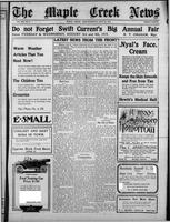 The Maple Creek News July 15, 1915