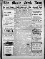 The Maple Creek News July 22, 1915