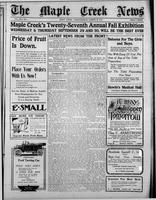 The Maple Creek News August 26, 1915