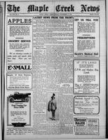 The Maple Creek News November 11, 1915