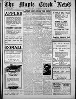 The Maple Creek News November 18, 1915