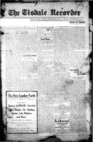 The Tisdale Recorder January 15, 1915
