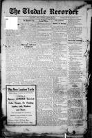 The Tisdale Recorder April 9, 1915