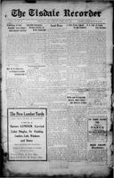 The Tisdale Recorder April 23, 1915