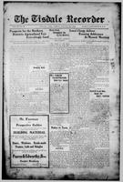 The Tisdale Recorder August 27, 1915
