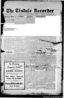The Tisdale Recorder December 3, 1915