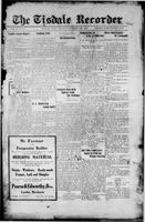 The Tisdale Recorder December 10, 1915