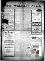 The Wolseley News July 21, 1915
