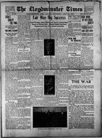 The Llyodminster Times August 26, 1915