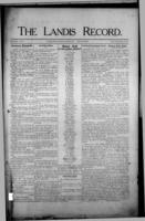 The Landis Record April 27, 1916