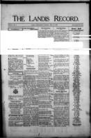 The Landis Record May 18, 1916