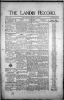 The Landis Record May 25, 1916