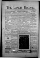 The Landis Record June 1, 1916