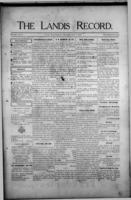 The Landis Record June 8, 1916