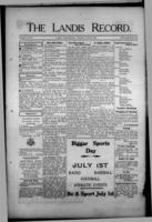 The Landis Record June 22, 1916