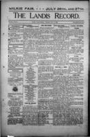 The Landis Record July 6, 1916