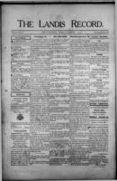 The Landis Record July 27, 1916