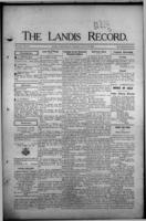The Landis Record August 24, 1916