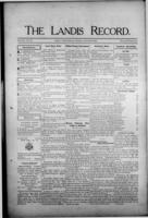 The Landis Record August 31, 1916
