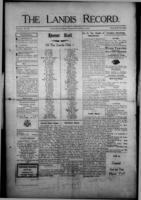 The Landis Record December 14, 1916
