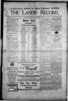 The Landis Record December 28, 1916