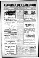 Lumsden News Review January 13, 1916