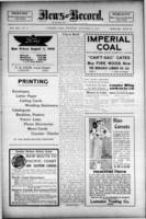 Lumsden News Review September 14, 1916