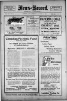 Lumsden News Review November 30, 1916