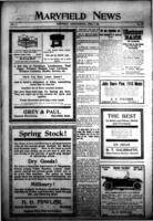 Maryfield News April 6, 1916
